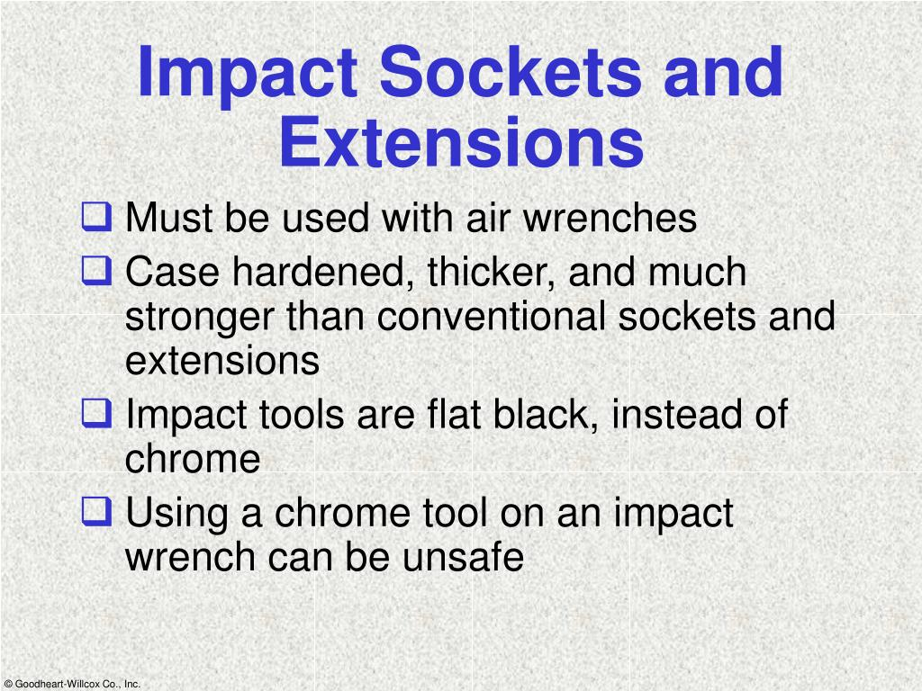 Impact Sockets and Extensions