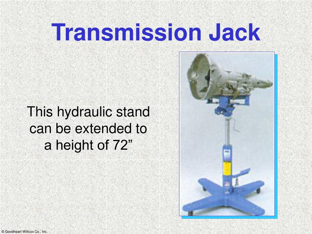 Transmission Jack