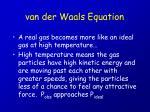 van der waals equation22