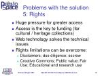 problems with the solution 5 rights