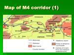 map of m4 corridor 1