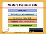capture customer data24