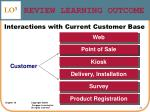 review learning outcome22