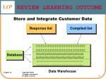 review learning outcome27