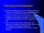 training and certification11