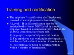 training and certification17