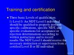 training and certification7