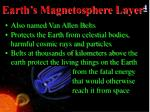 earth s magnetosphere layer 4