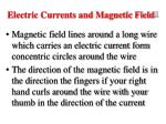 electric currents and magnetic field 3