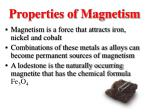 properties of magnetism