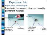 experiment 16 a