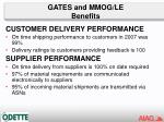 gates and mmog le benefits