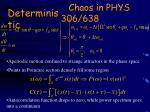 chaos in phys 306 638