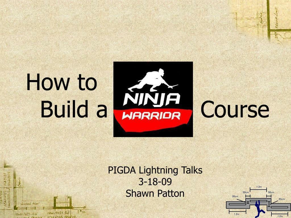 pigda lightning talks 3 18 09 shawn patton l.