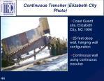 continuous trencher elizabeth city photo
