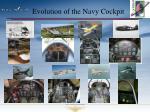 evolution of the navy cockpit