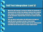 full test integration cont d22