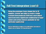 full test integration cont d23