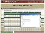 fhp sbtp execution