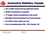automotive statistics canada9