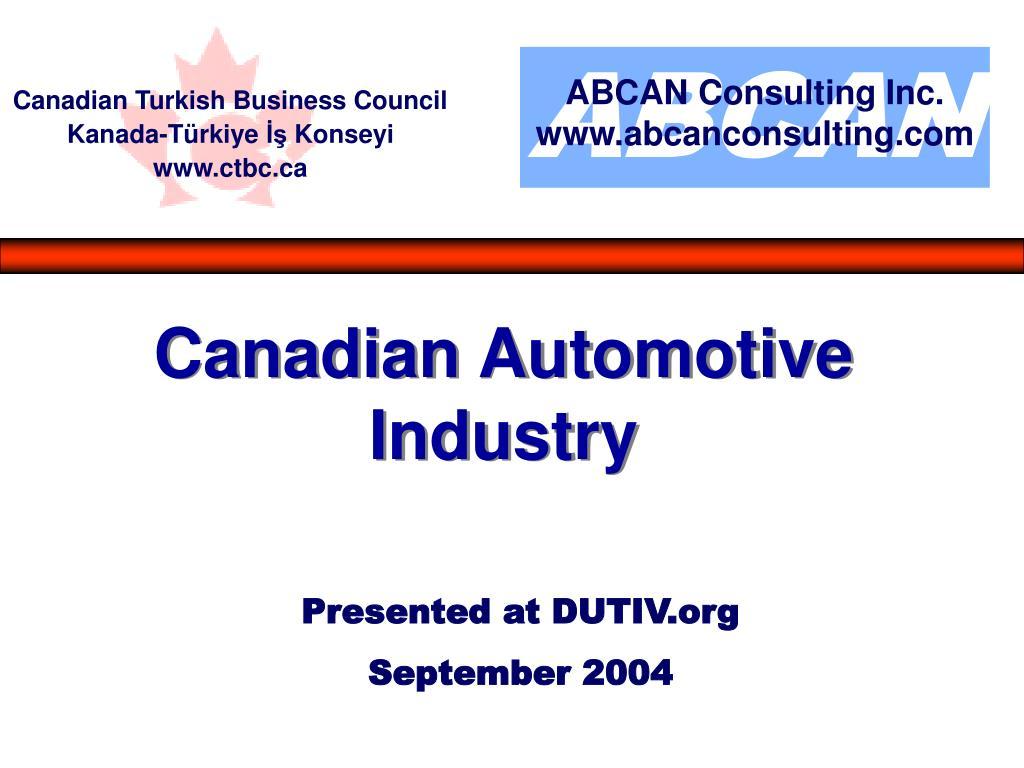 presented at dutiv org september 2004 l.