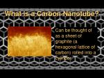 what is a carbon nanotube