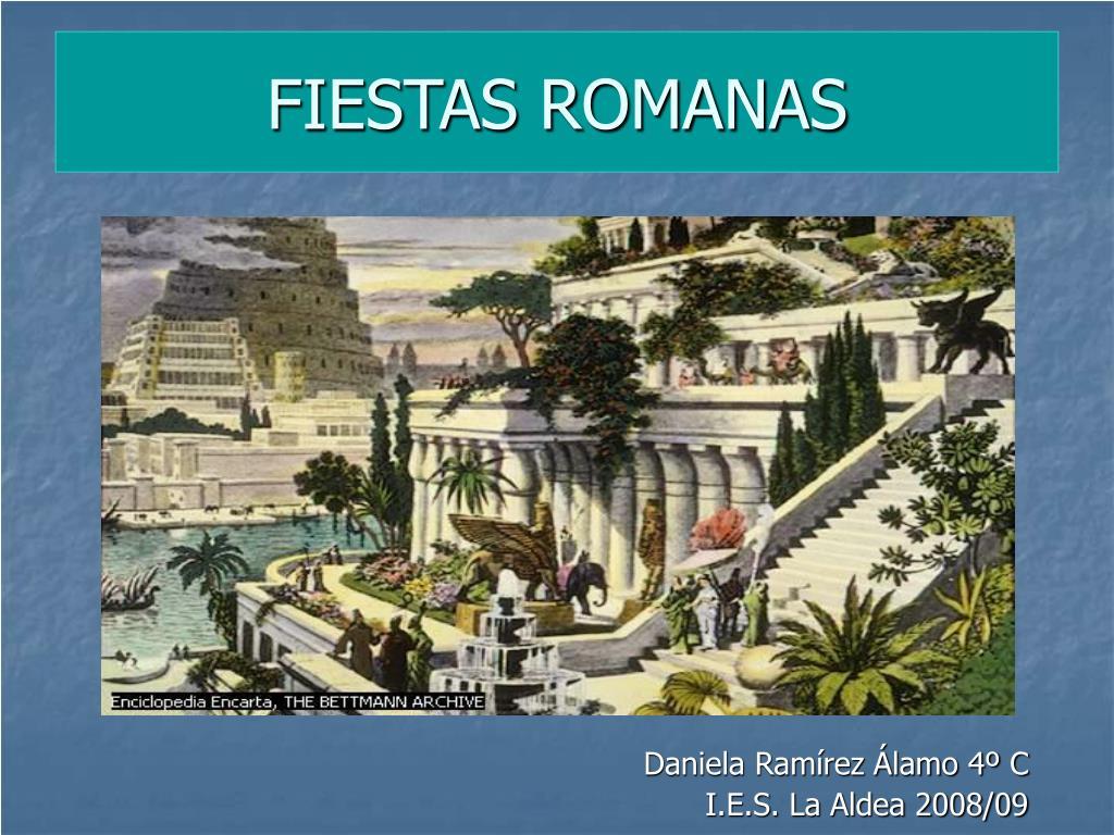 fiestas romanas l.