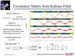 covariance matrix from kalman filter
