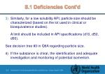s 1 deficiencies cont d9