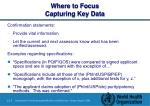 where to focus capturing key data45