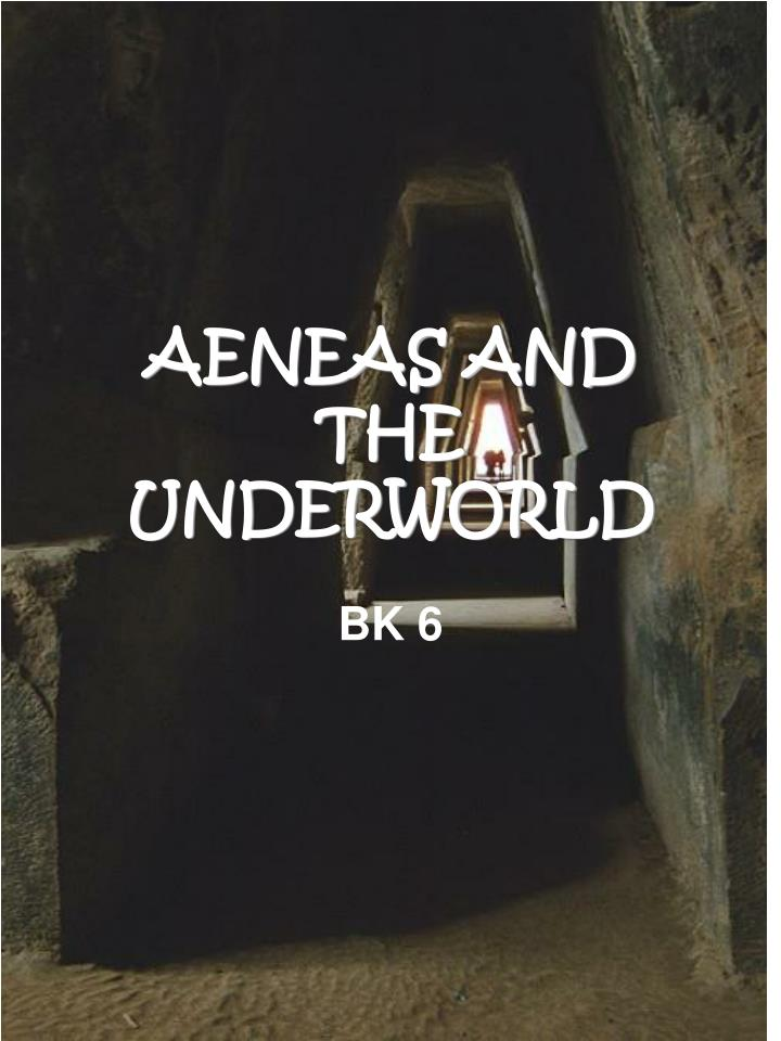 aeneas and the underworld n.