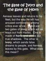 the gate of ivory and the gate of horn
