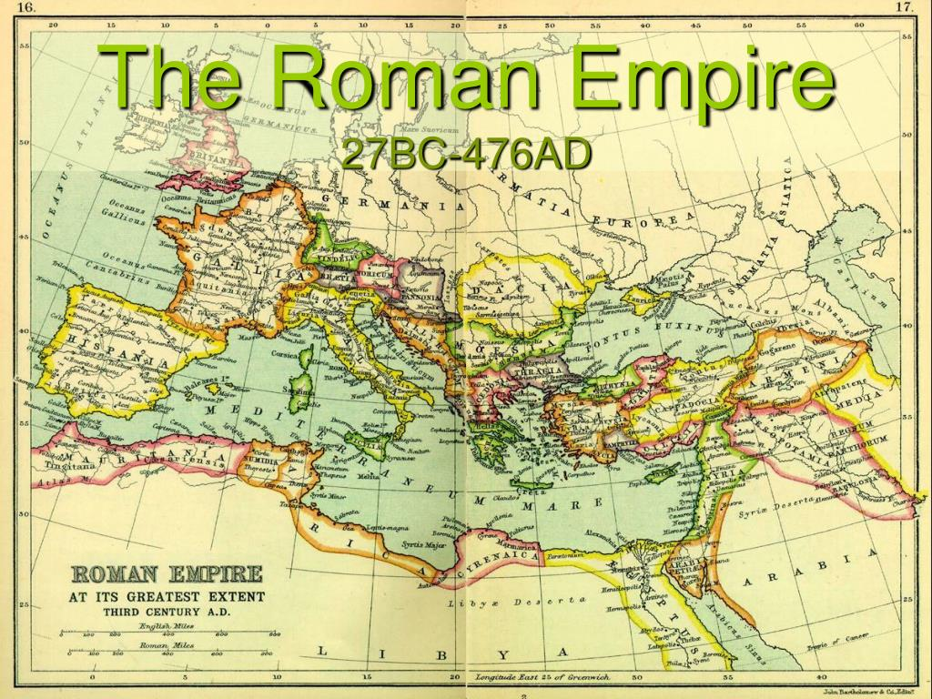 the roman empire 27bc 476ad l.