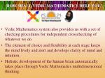 how shall vedic mathematics help you4