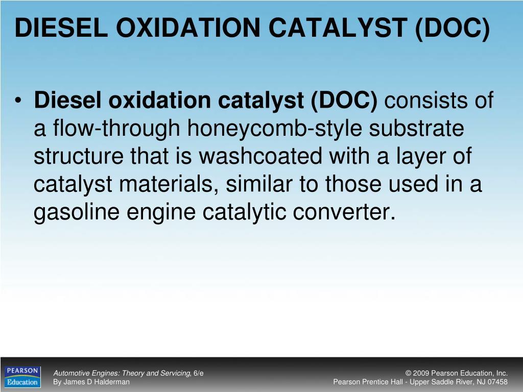 DIESEL OXIDATION CATALYST (DOC)
