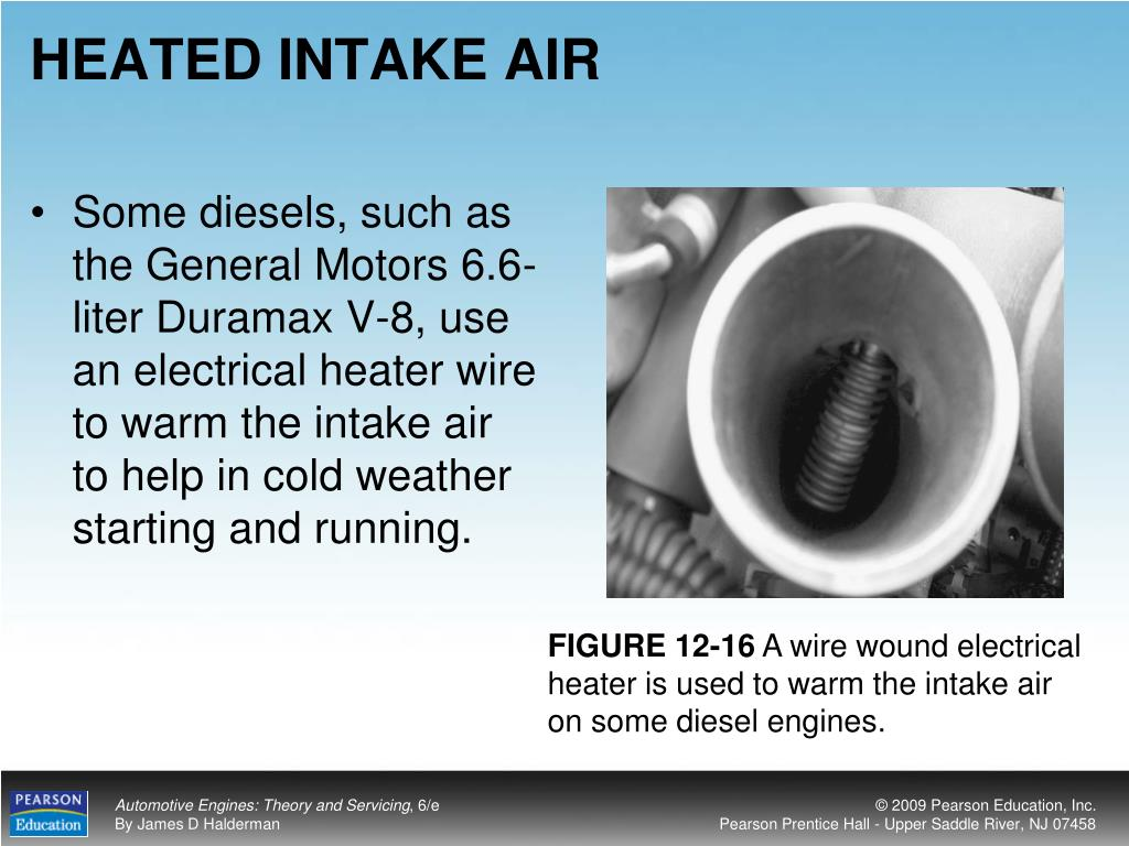 HEATED INTAKE AIR