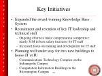 key initiatives20