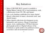 key initiatives49
