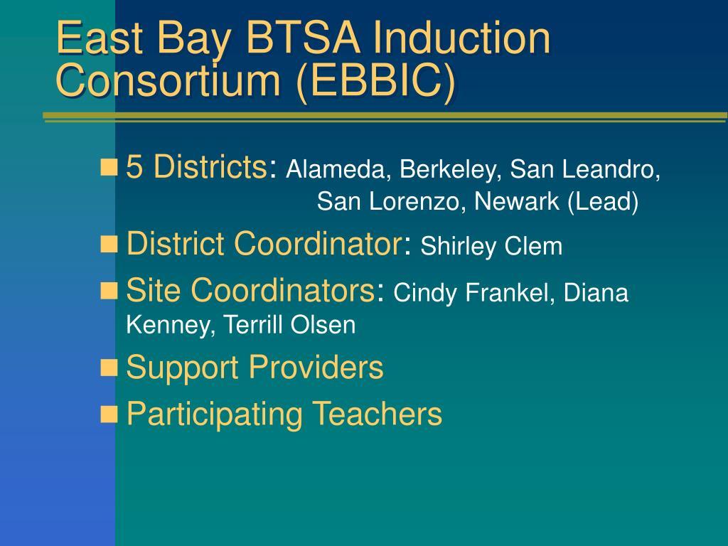 East Bay BTSA Induction