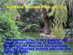 australia animals park and zoo