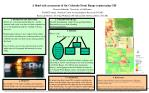 a flood risk assessment of the colorado front range region using gis