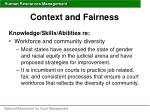 context and fairness35