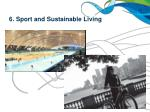 6 sport and sustainable living