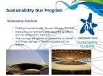 sustainability star program