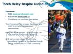 torch relay inspire canadians