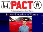 broward location in weston