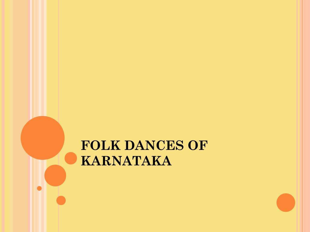 folk dances of karnataka l.