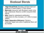 biodiesel blends12