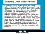 switching over older vehicles