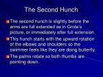 the second hunch